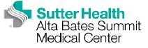 sutter health alta bates summit medical center logo