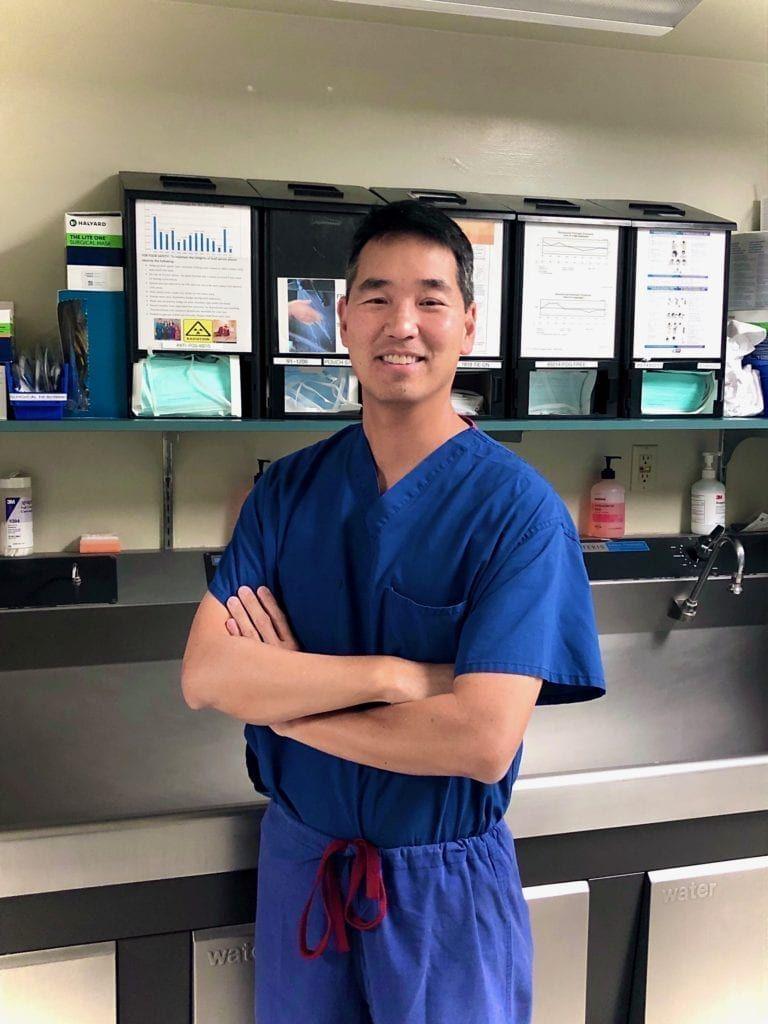 dr christopher j chen scrubs headshot